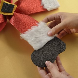 How to make a Santa's Bow