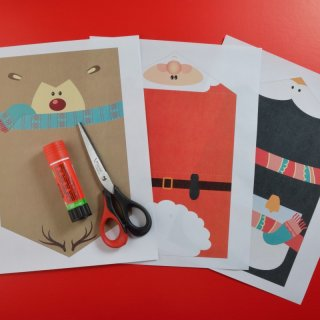 Christmas cardsHow to make Christmas Cards to Print