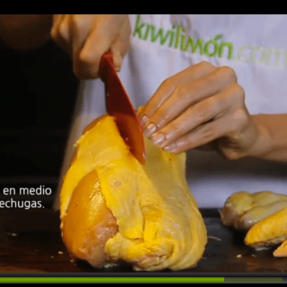 How to cut the breasts of a chicken.How to cut a whole chicken