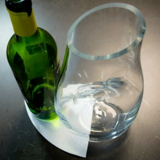 How to get a cork that was left inside the wine bottle