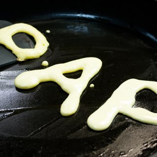 How to make special hot cakes for dad