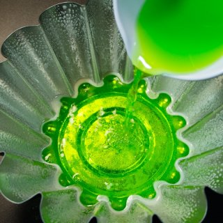 How to make two-color gelatin